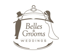 Belles & Grooms Wedding Logo